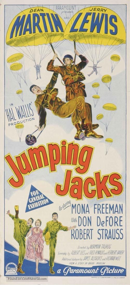 Jumping Jacks - Australian Movie Poster