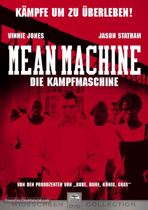 Mean Machine - German DVD cover