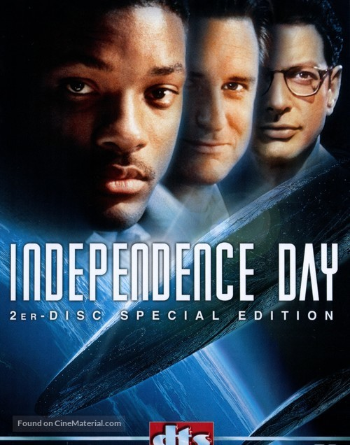 Independence Day - DVD movie cover