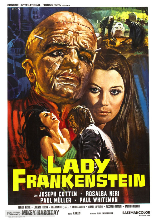 La figlia di Frankenstein - Italian Movie Poster