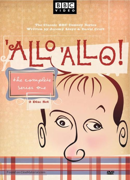 """'Allo 'Allo!"" - DVD movie cover"