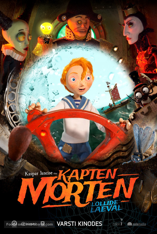 Captain Morten and the Spider Queen - Estonian Movie Poster