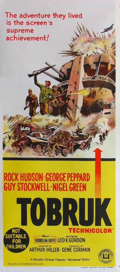 Tobruk - Australian Movie Poster