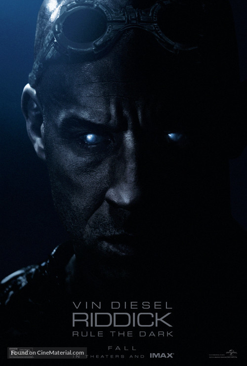 Riddick - Movie Poster
