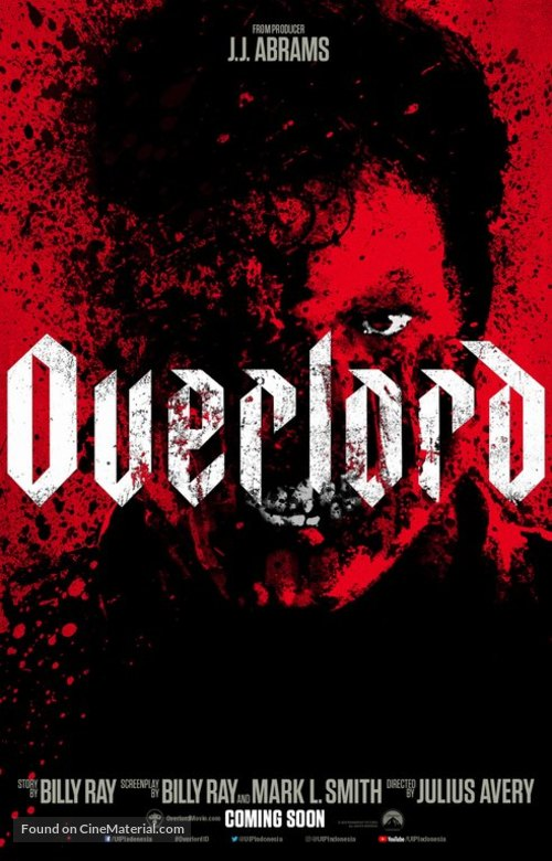 Overlord - Indonesian Movie Poster