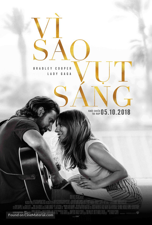 A Star Is Born - Vietnamese Movie Poster