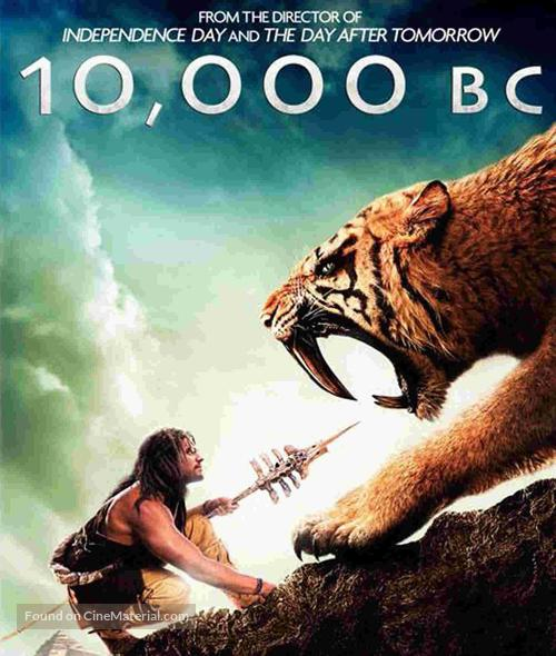 10,000 BC - Blu-Ray cover