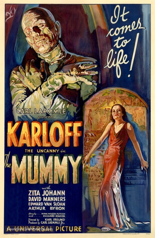 The Mummy - Theatrical movie poster