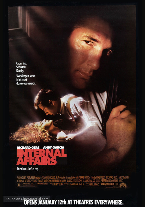 Internal Affairs - Movie Poster