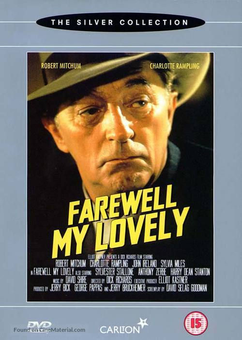 Farewell, My Lovely - British DVD cover