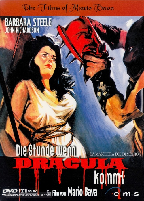 La maschera del demonio - German DVD cover