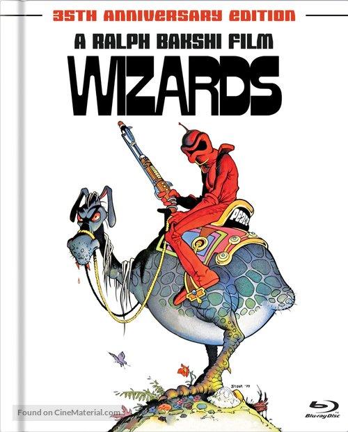 Wizards - Blu-Ray movie cover