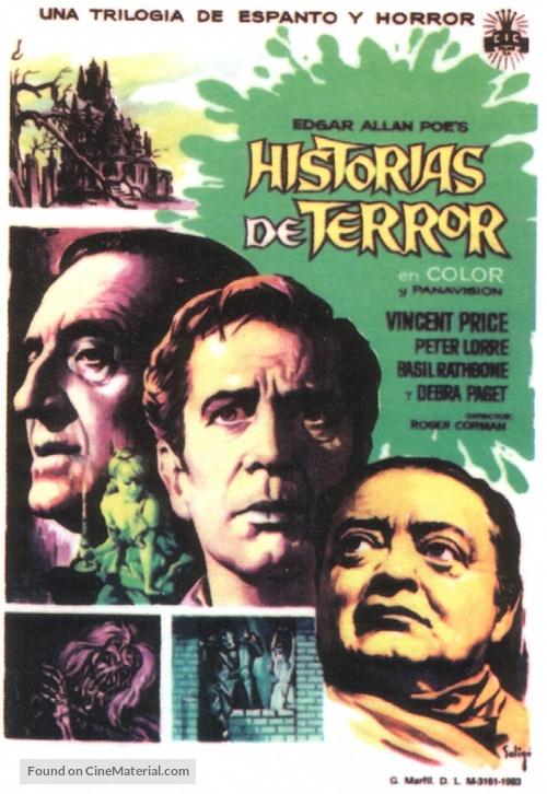 Tales of Terror - Spanish Movie Poster