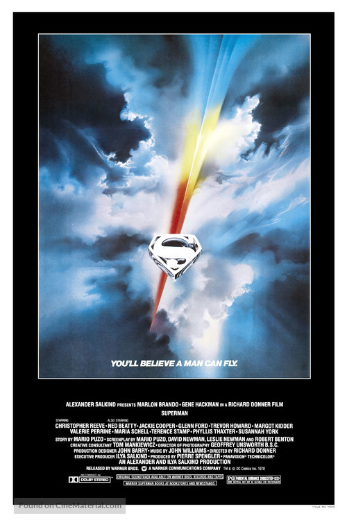 Superman - Movie Poster