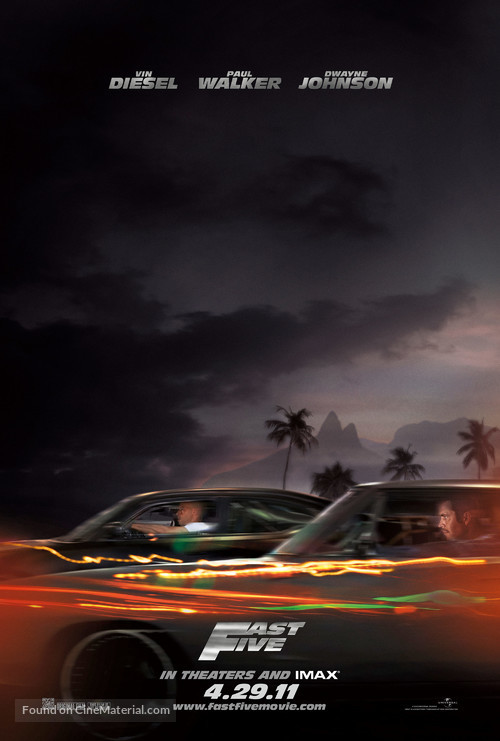 Fast Five - Movie Poster