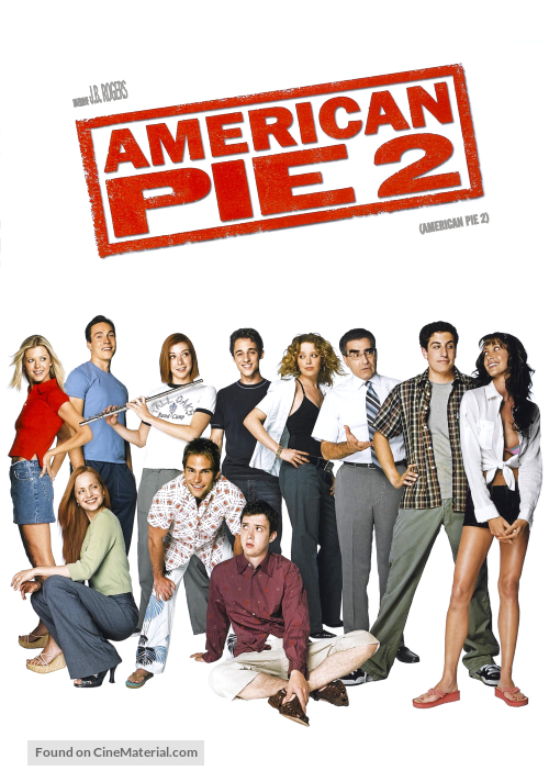 American Pie 2 - Argentinian DVD cover