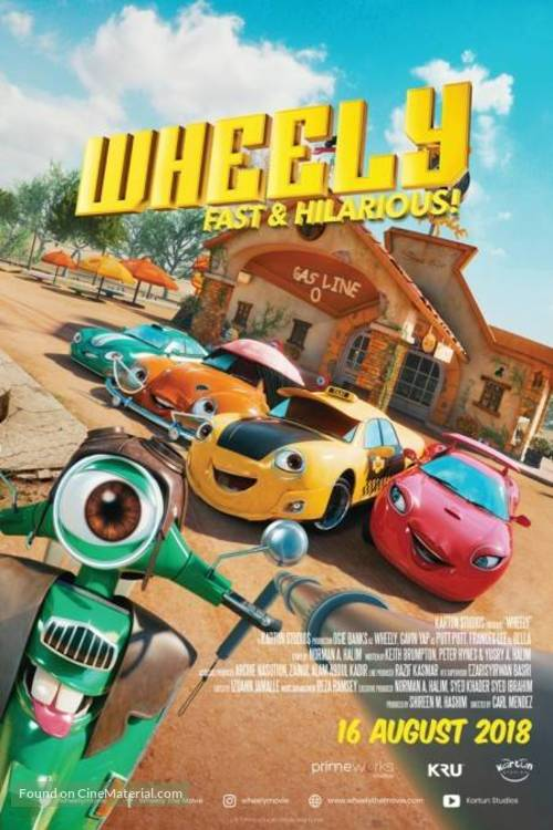 Wheely - Malaysian Movie Poster
