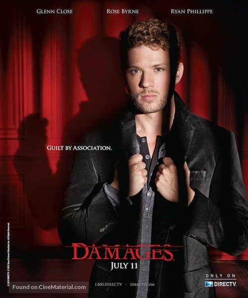 """""""Damages"""" - Movie Poster"""