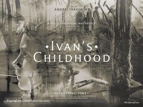 Ivanovo detstvo - British Re-release movie poster