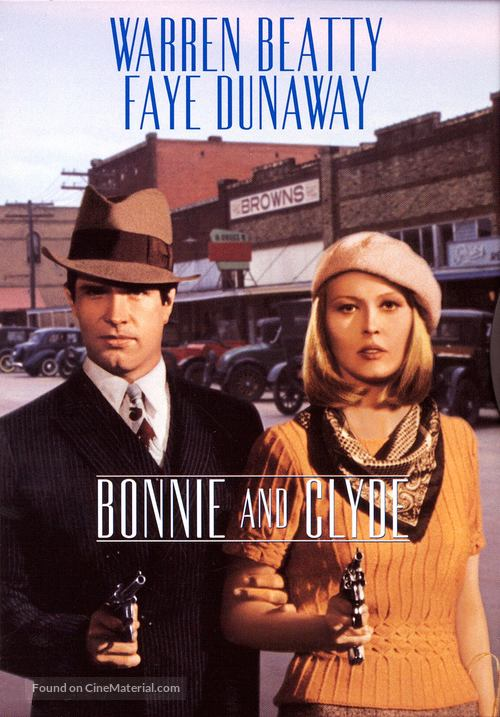 Bonnie and Clyde - DVD movie cover