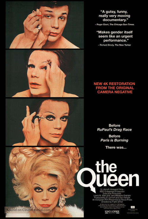 The Queen - Re-release poster