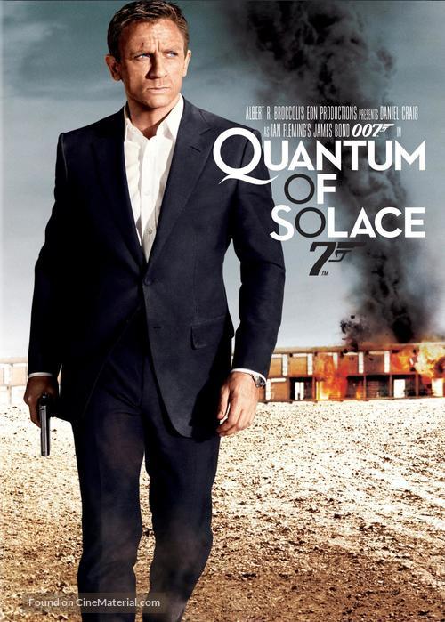 Quantum of Solace - Movie Cover