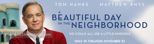 A Beautiful Day in the Neighborhood - Movie Poster