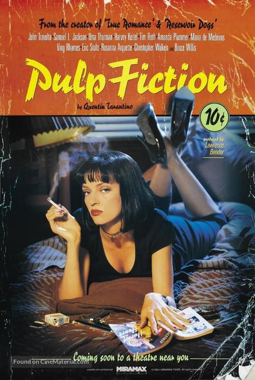 Pulp Fiction - Advance movie poster
