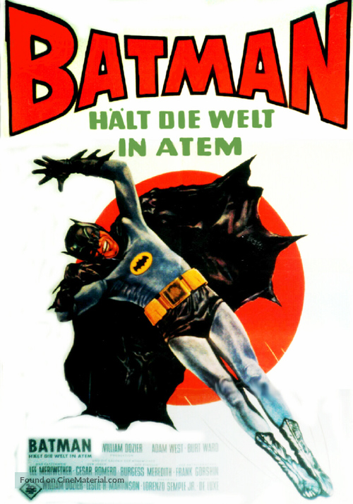 Batman - German Movie Poster