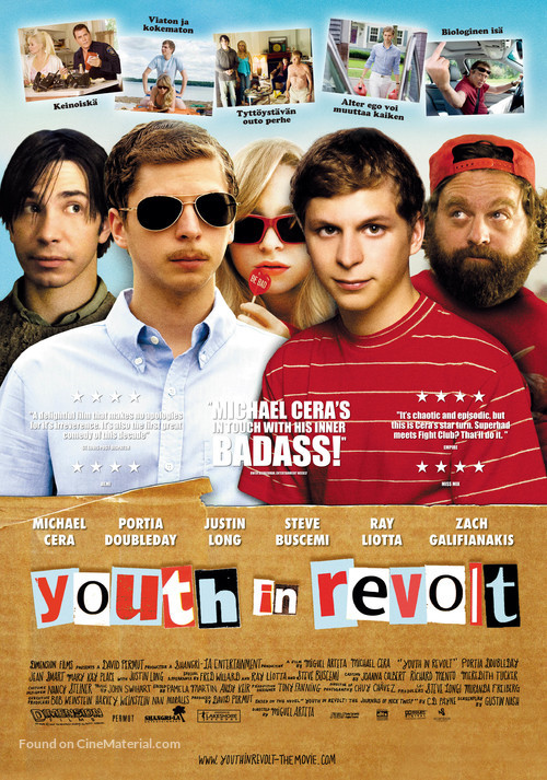 Youth in Revolt Finnish movie poster