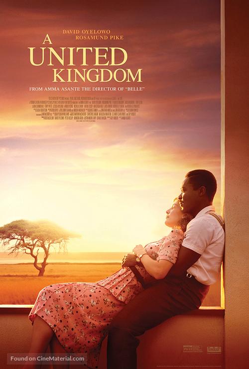 A United Kingdom - Movie Poster