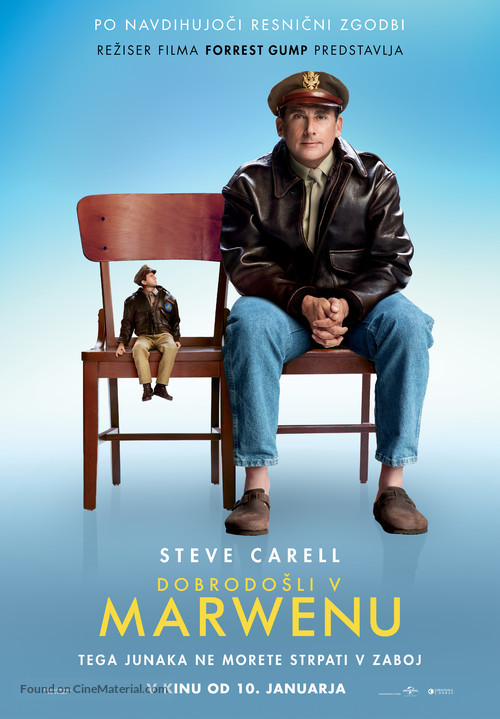 Welcome to Marwen - Slovenian Movie Poster