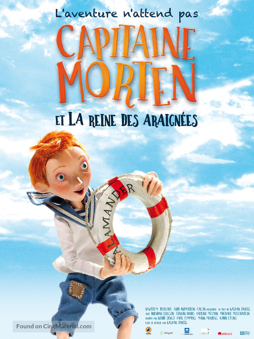 Captain Morten and the Spider Queen - French Movie Poster