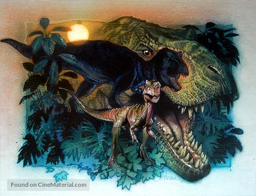 The Lost World: Jurassic Park - Key art