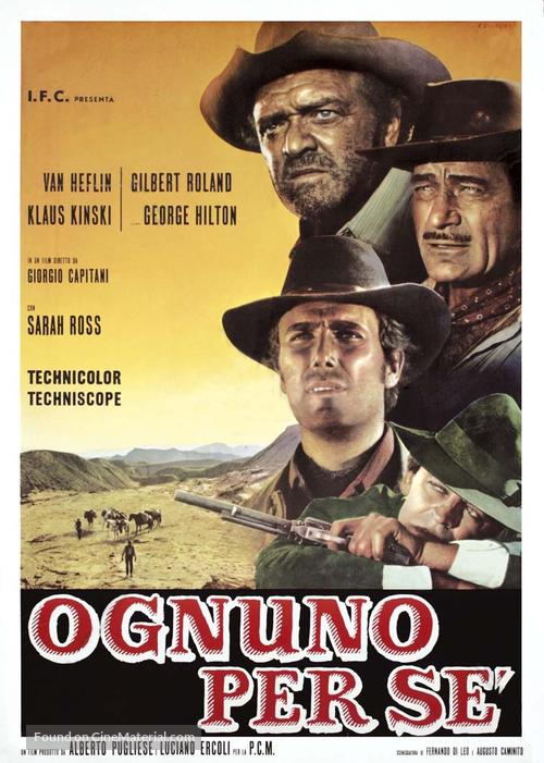 Ognuno per sé - Italian Movie Poster