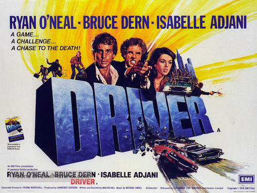 The Driver - British Movie Poster