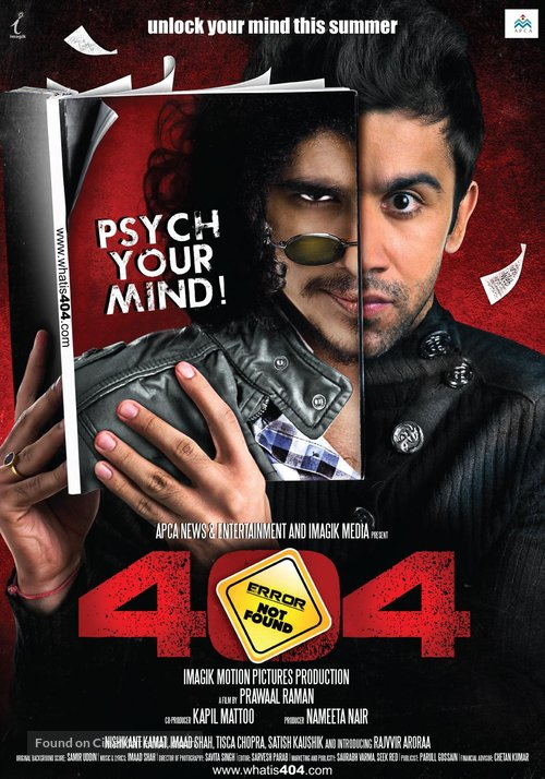 404 - Indian Movie Poster