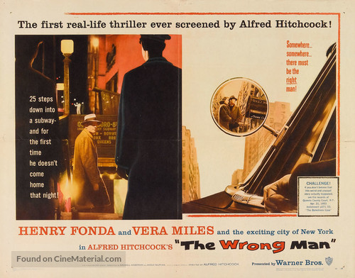 The Wrong Man - Movie Poster