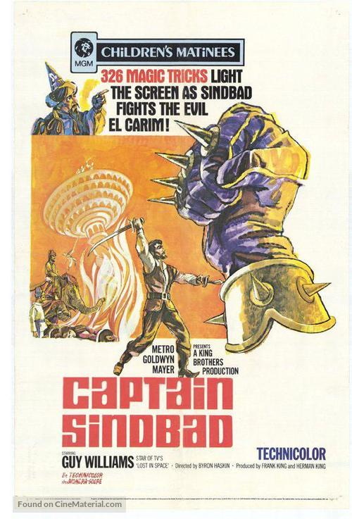Captain Sindbad - Movie Poster