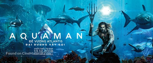 Aquaman - Vietnamese Movie Poster