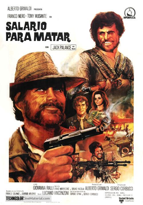 Il mercenario - Spanish Movie Poster