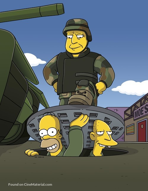 """""""The Simpsons"""" - poster"""