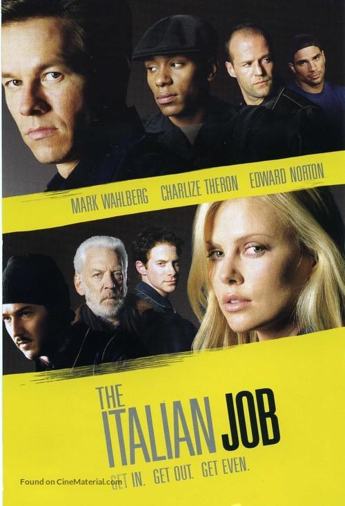 The Italian Job - DVD movie cover