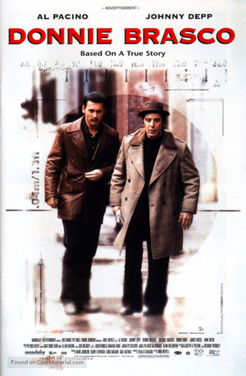 Donnie Brasco - Movie Poster