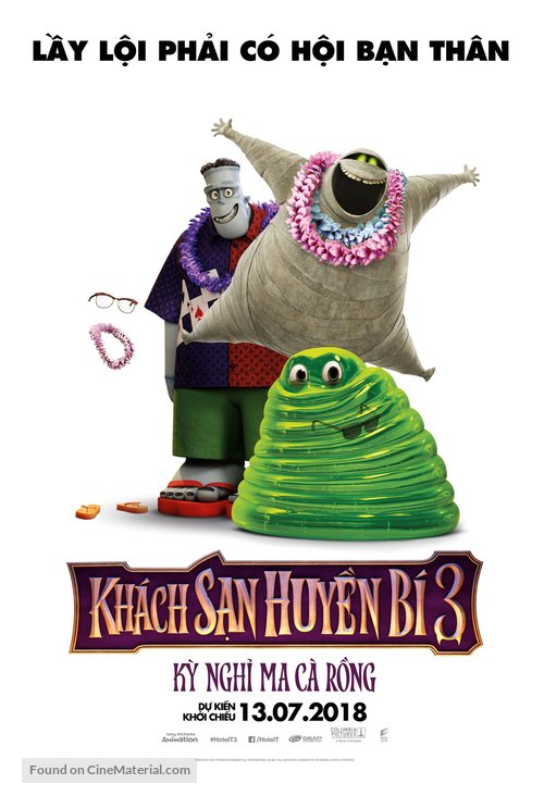 Hotel Transylvania 3: Summer Vacation Vietnamese Movie Poster