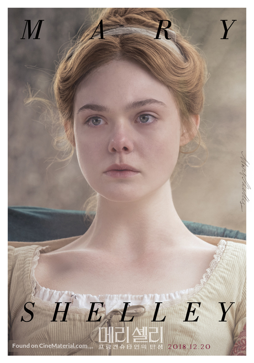 Mary Shelley - South Korean Movie Poster