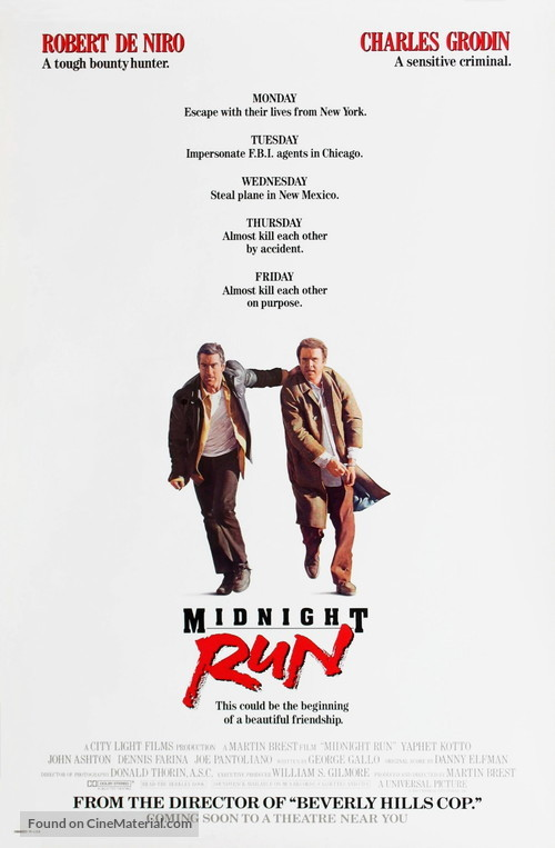 Midnight Run - Movie Poster