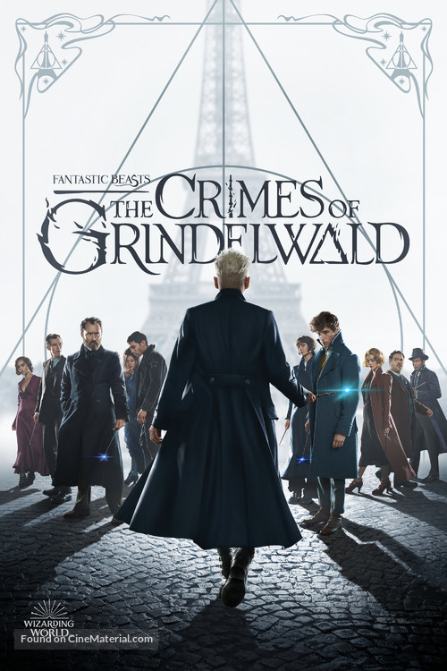 Fantastic Beasts: The Crimes of Grindelwald - Movie Cover