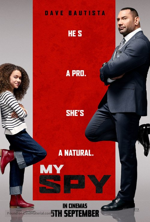 My Spy - Malaysian Movie Poster