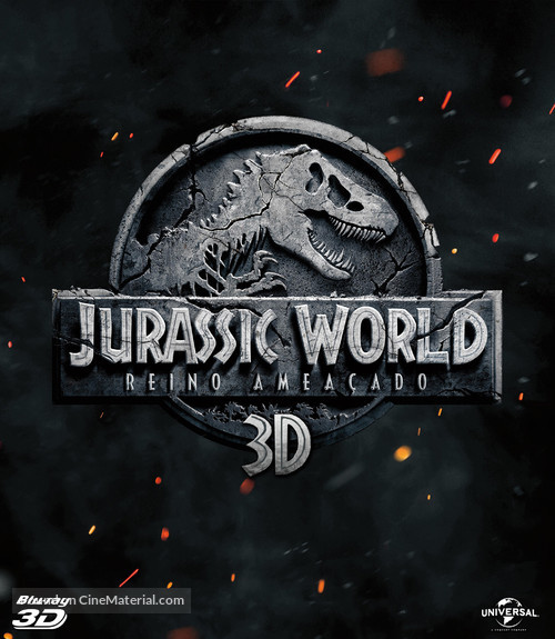 Jurassic World: Fallen Kingdom - Brazilian Movie Cover